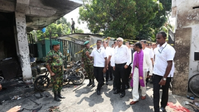 PM visits Zion Church