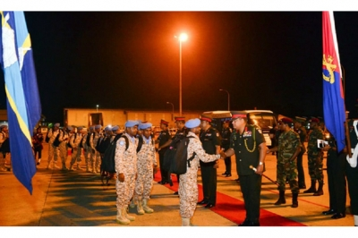 243 Army personnel depart to Mali for  peacekeeping