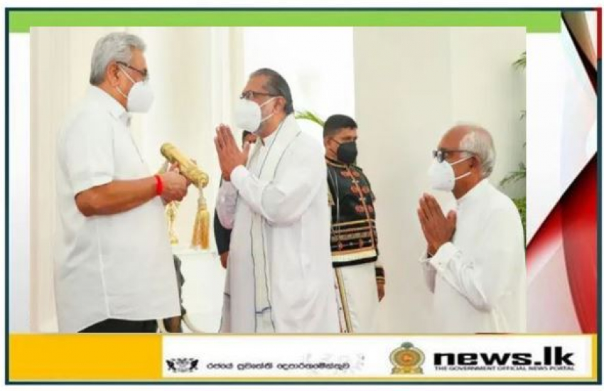 Nekath Seettuwa' presented to President