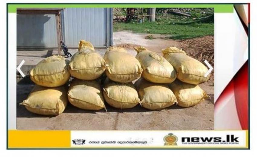 Navy seizes 710kg of smuggled dried turmeric and over 03kg of Kerala cannabis at Erukkulampiddi