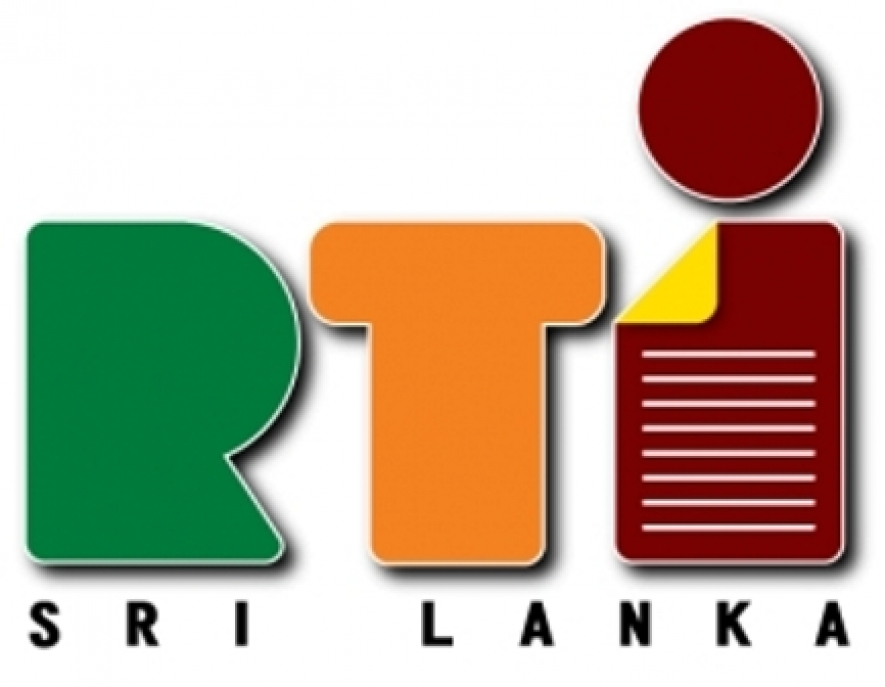 Workshop on RTI Act today in Galle