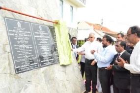 Mannar District Secretariat opened