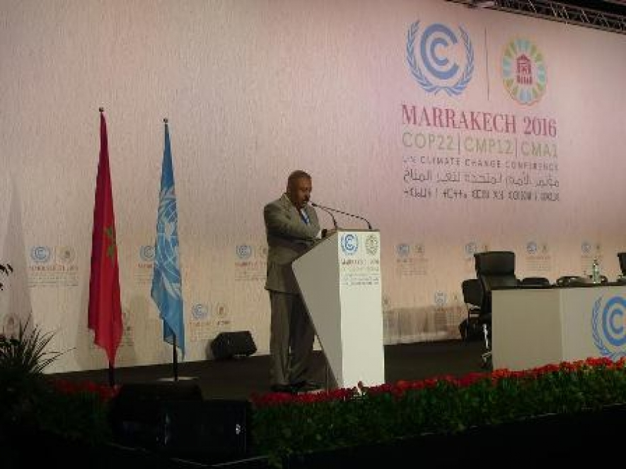 Statement by Minister of Foreign Affairs Mangala Samaraweera at COP22