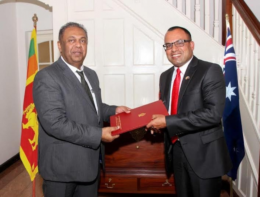 Roshana Jalagge appointed as  Consul for Sri Lanka in Western Australia