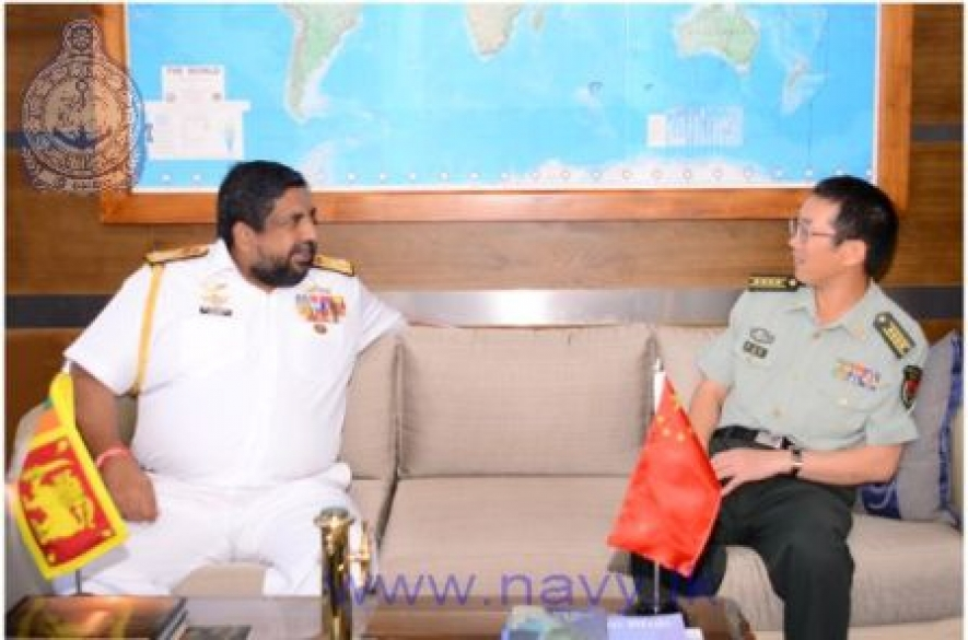 New Chinese Defence Attaché calls on Navy Commander