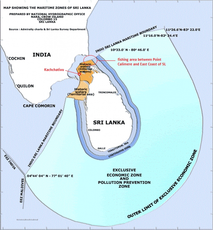 India seeks pact with Lanka to fish around Katchatheevu