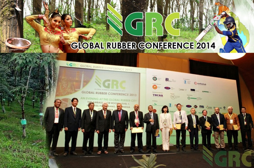 Global Rubber Conference 2014 in Colombo