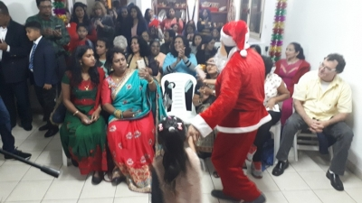 EMBASSY  IN ISRAEL CELEBRATES CHRISTMAS