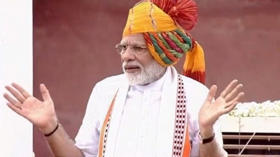 73rd Independence Day: From Red Fort, PM Modi strikes at Oppn over Article 370 with a question