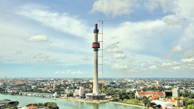 Lotus tower: Sri Lanka's tallest building scheduled to open mid-Sept