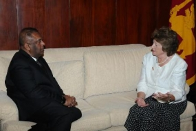 Foreign Minister meets Minister of State for Commonwealth and the UN