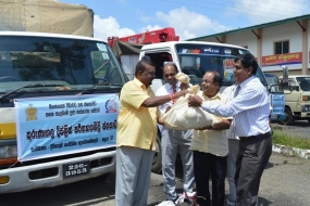 Kurunegala Divineguma Social Relief Program provides  relief to drought-affected people in Anuradhapura District