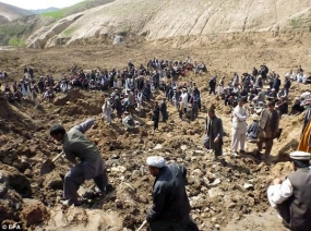 'No Hope' for Those Buried by Mudslide, Afghan Official Says