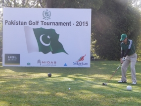 2nd Edition of Pakistan Golf Tournament Concludes in Colombo