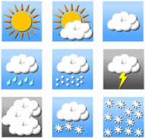 Today's weather forecast and sea areas weather forecast