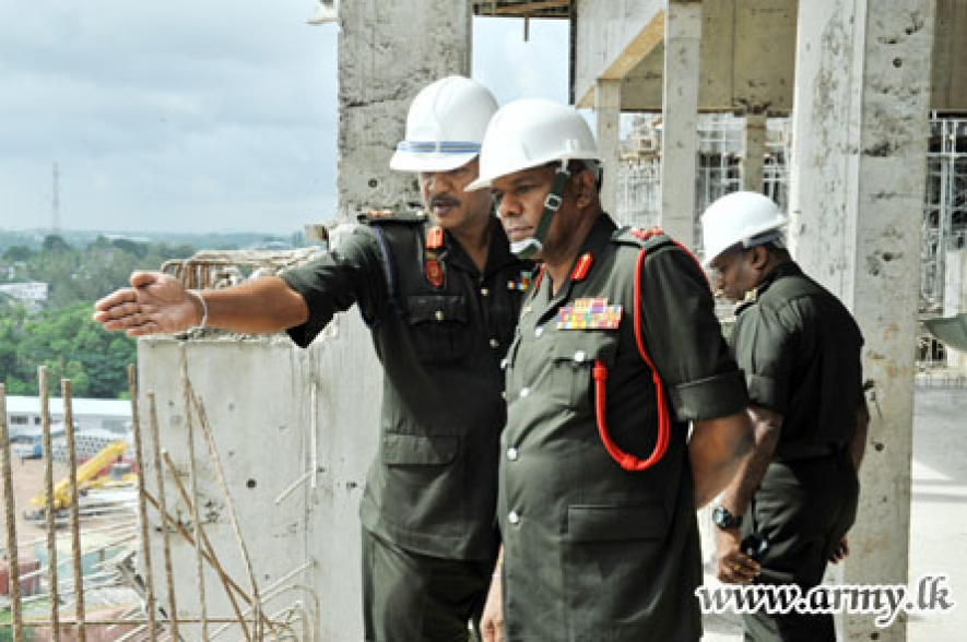 Army Commander Inspects New Defence HQ's Complex