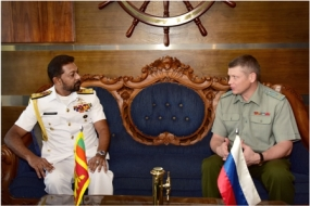 Russian Military Attaché calls on Navy Commander