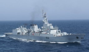 Pakistan Naval Ship PNS SHAMSHEER in Sri Lanka on a Goodwill Visit
