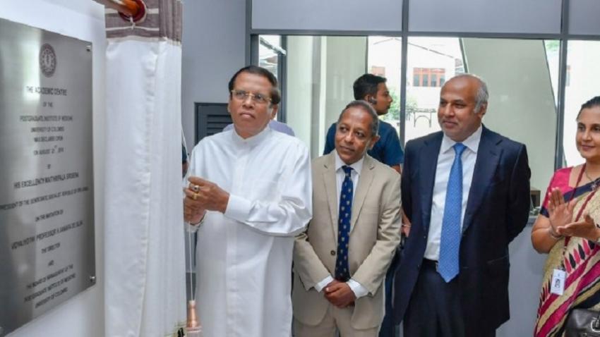 President  open  new academic centre at PGIM