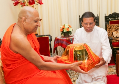 Buddhist philosophy still exists due to great commitment of the Mahasangha – President