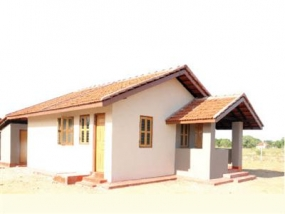 India constructs 27,000 houses in Sri Lanka