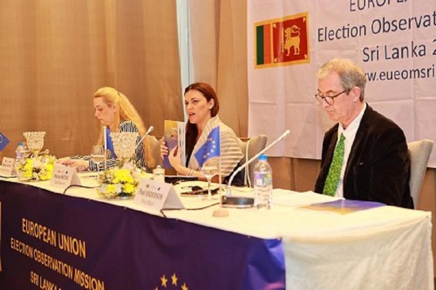 EU EOM presents final report on SL polls