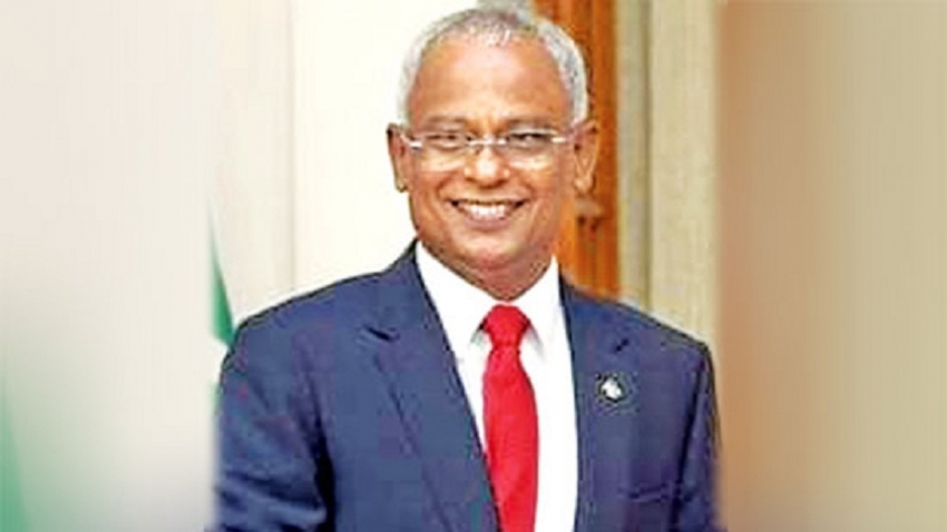MALDIVES PRESIDENT CHIEF GUEST at NATIONAL DAY