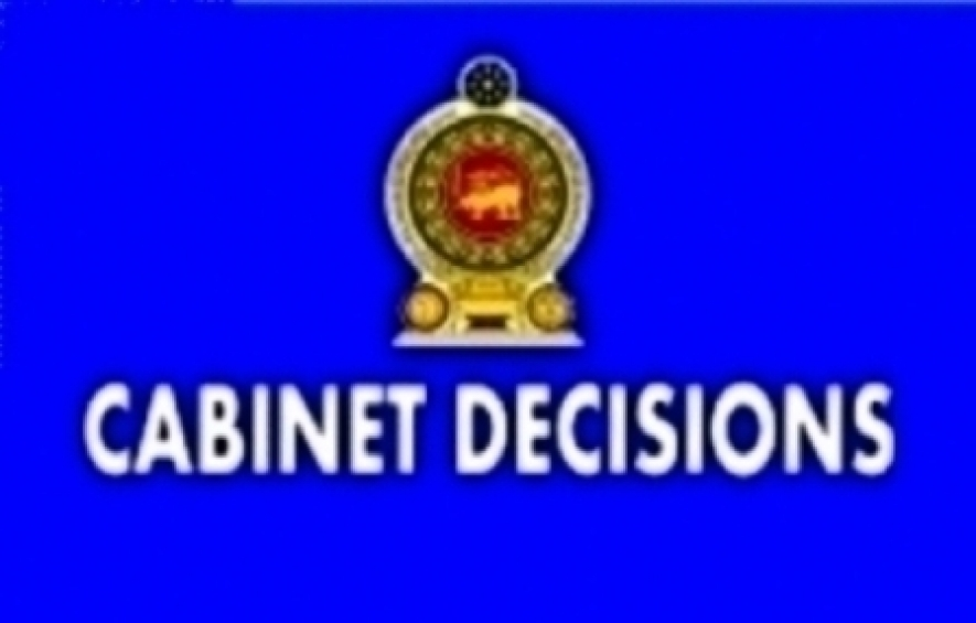 DECISIONS TAKEN BY THE CABINET OF MINISTERS AT ITS MEETING HELD ON 03-05- 2016