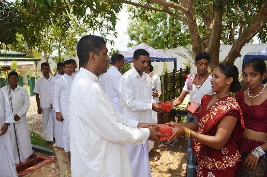 Jaffna Army Headquarters Celebrates  New Year