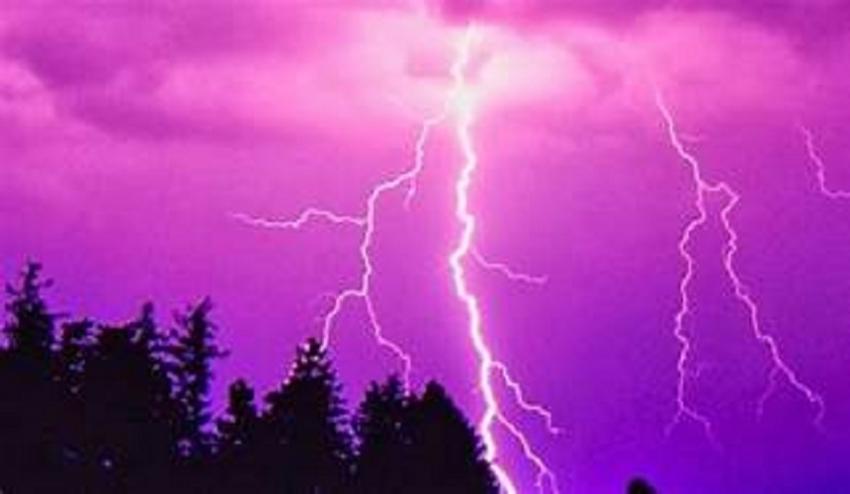 Evening thundershowers in next few days