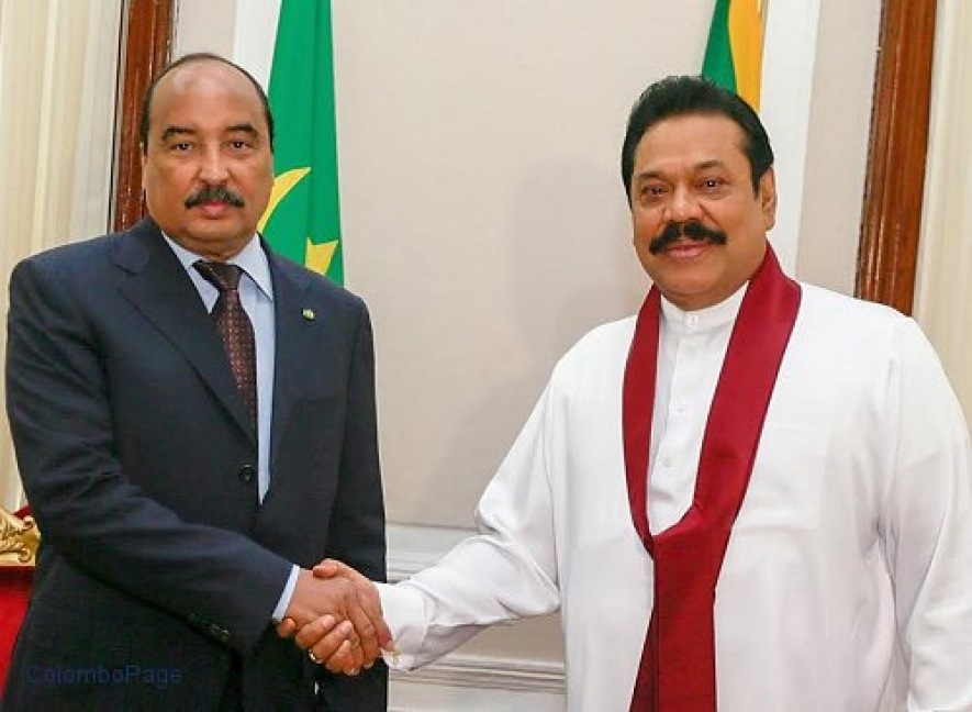 President Rajapaksa Holds Bilateral Discussions with President of Mauritania
