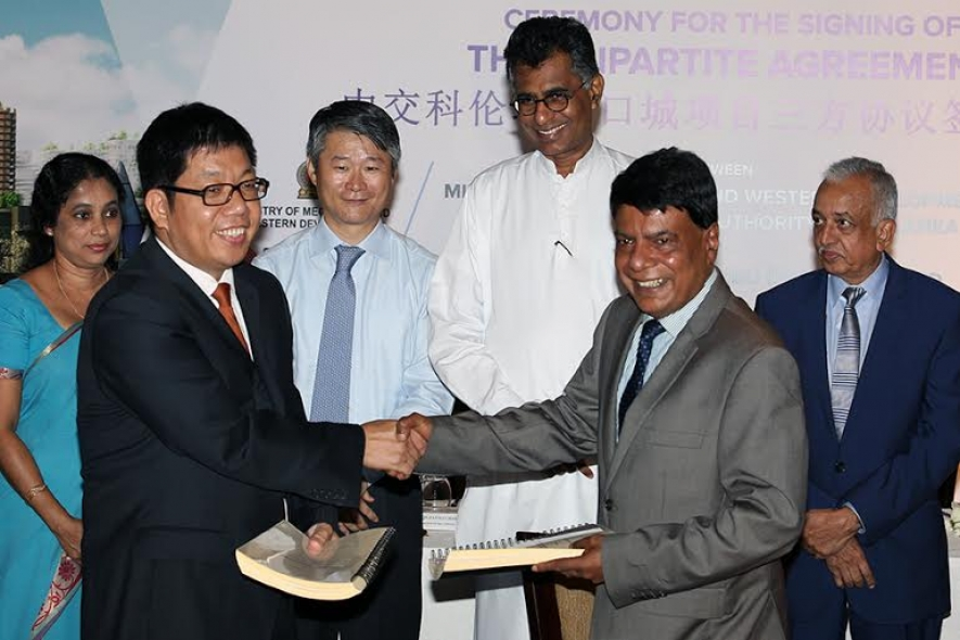Government Signs Tripartite Agreement For Colombo International