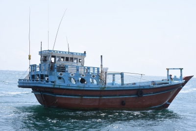 Foreign vessel linked to narcotics trafficking brought to Colombo harbour
