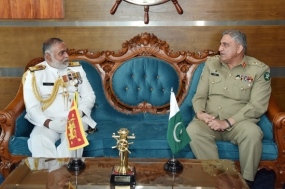 Pakistan Army Chief meets Navy Commander