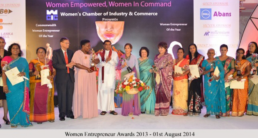 First Commonwealth Woman Entrepreneur of the year 2013