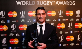 New Zealand's Dan Carter named World Rugby player of year