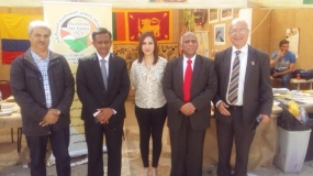 Sri Lanka Participates at International Day in Palestine