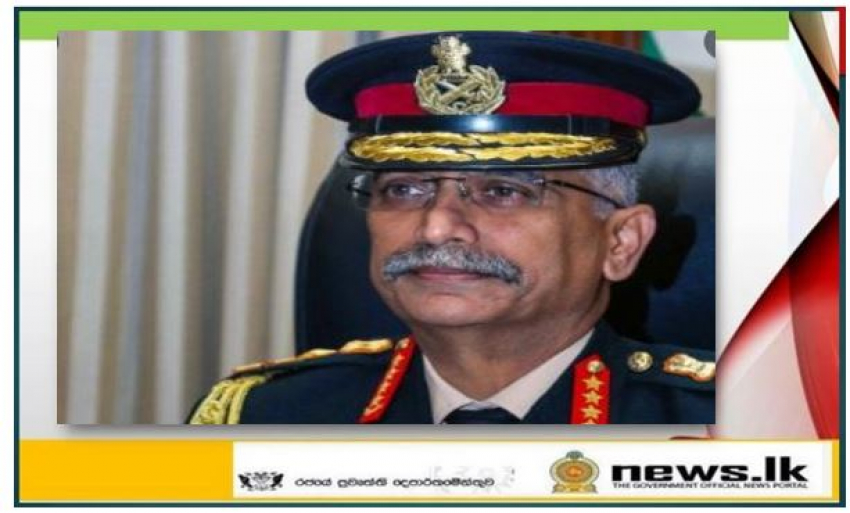 Indian army chief arrives on five-day long goodwill tour