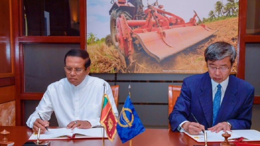 ADB bonanza for Sri Lanka during President's visit
