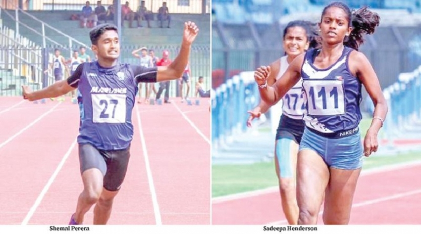 Shemal and Henderson the best at Asian Youth trials