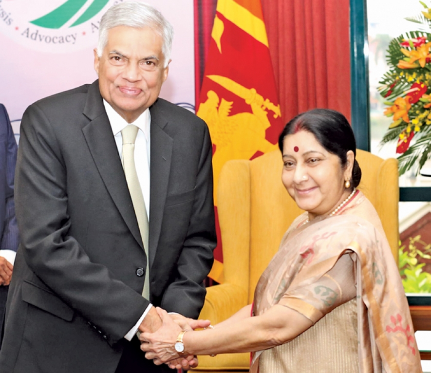 India shows keen interest in Sri Lanka's development projects