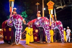 Bellanwila  Esala Festival will conclude  with tonight's Randoli Perahera