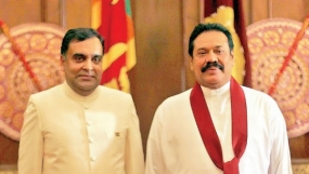 Indian High Commissioner Calls on President Rajapaksa