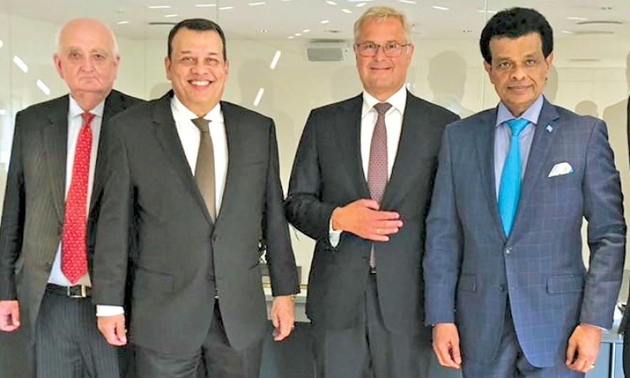 Denmark support for Lankan ports sector