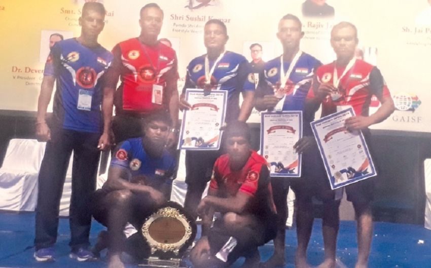 Bandara and Seneviratne win medals for Sri Lanka in Grappling