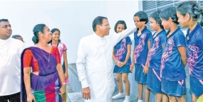Govt. has given free education for future prosperity of our children - President