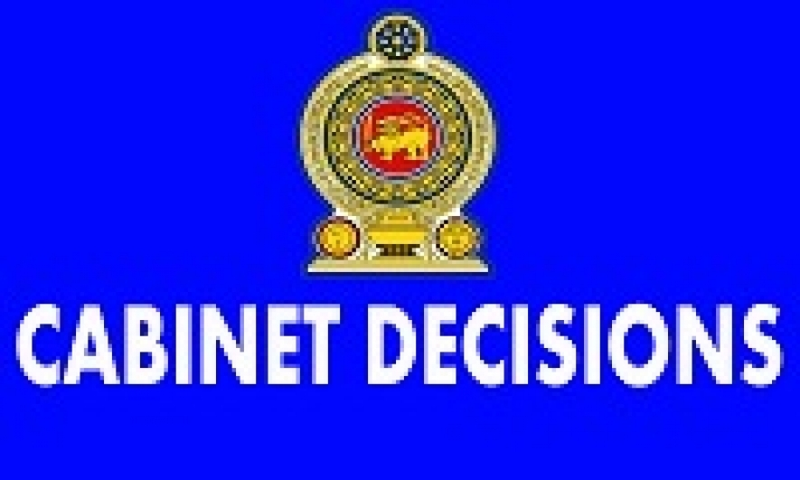 Decisions taken by the Cabinet at its Meeting held on 03-04-2014