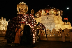Final Rabdoli Perahera of Kandy Esala Festival, today