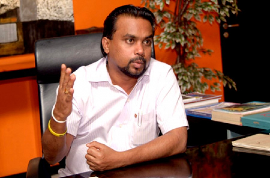 Western diplomatic missions plan to engineer Pink Revolution in Sri Lanka – Minister Weerawansa