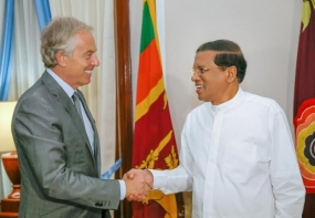 Former British PM  Blair to assist eliminate misconceptions on Sri Lanka